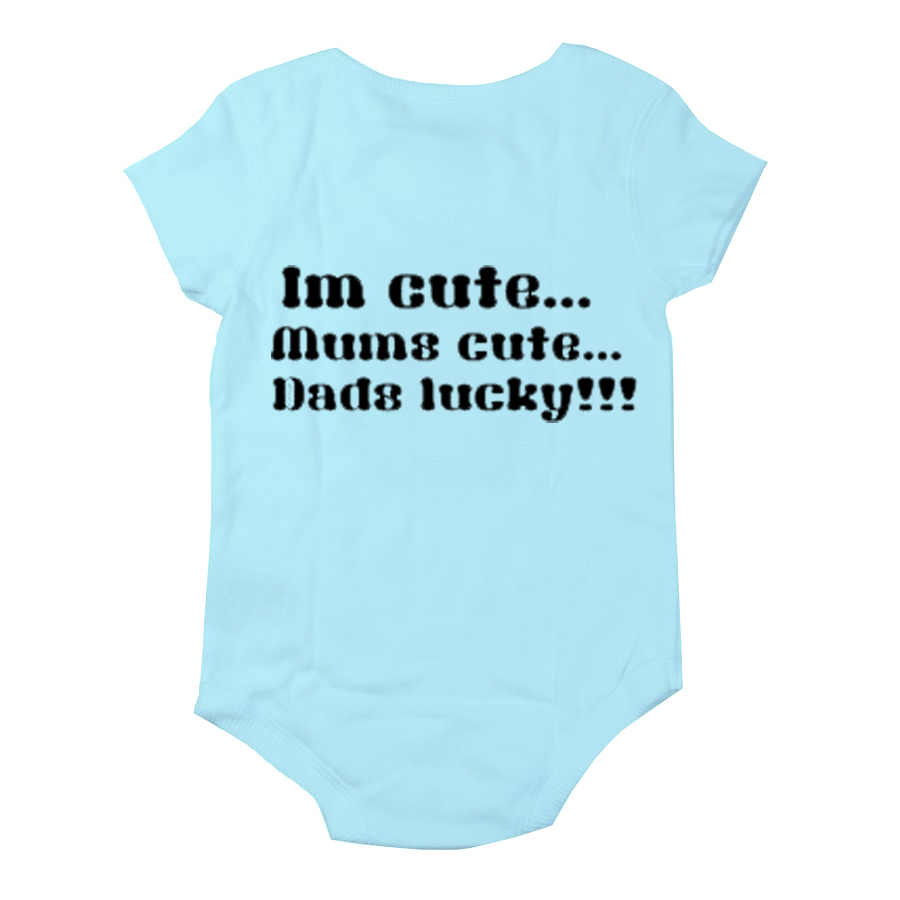 ... Pictures on funny cute baby grow vests boys girls birthday christening