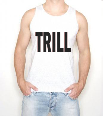 music rnb rap hip hop mens vest £ 9 85 trill music rnb rap hip hop